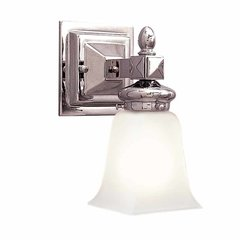 Cumberland 1 Light Bathroom Sconce - Polished Nickel