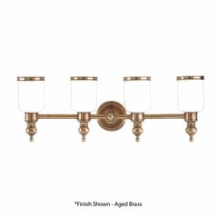 Chatham 4 Light Bathroom Vanity Light - Distressed Bronze
