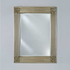 "Estate 51"" Wall Mount Mirror - Antique Silver"