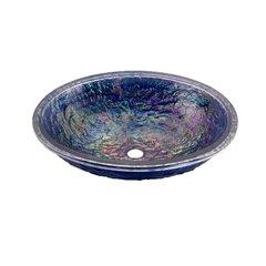 "16-3/8"" X 19-3/4"" Undermount Sink - Slate Blue Reflections"