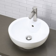 "16-1/8"" x 16-1/8"" Above Counter Bathroom Sink"