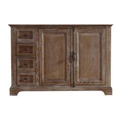 """47"""" Providence Single Cabinet Only w/o Top - Driftwood"""
