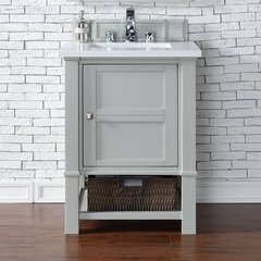 """26"""" Madison Single Vanity Cabinet Only-Dove Gray"""