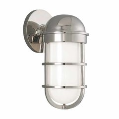Groton 1 Light Bathroom Sconce - Polished Nickel