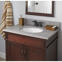 "31"" x 19"" Single Bowl Vanity Top Only w/ Basin - Napoli"