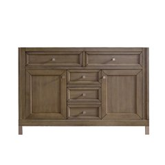 "48"" Chicago Single Cabinet Only w/o Top -White Washed Walnut"