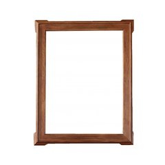 "35"" x 44"" Pasadena Wall Mount Mirror - Antique Oak"