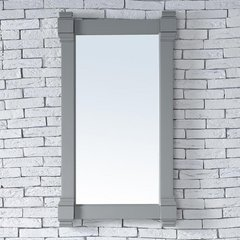 "22"" x 40"" Brittany Wall Mount Bathroom Mirror - Urban Gray"