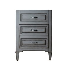 "24"" Kelly Single Cabinet Only w/o Top - Grayish Blue"