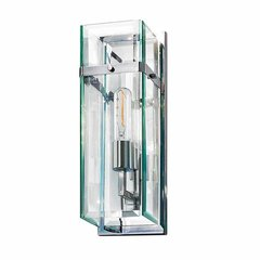 Mercer Street 1 Light Bathroom Sconce - Polished Chrome