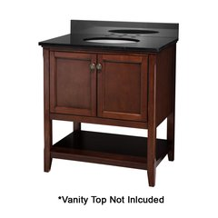 "30"" Auguste Cabinet Only w/o Top - Chestnut"