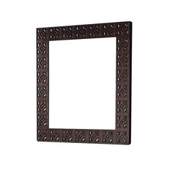 "42"" x 36"" Balmoral Wall Mount Mirror - Antique Walnut"