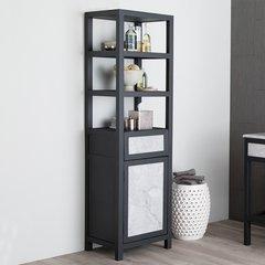 """69"""" Cuzco Linen Cabinet - Carrara"""
