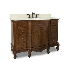 "50"" Clairemont Single Sink Bathroom Vanity - Nutmeg"