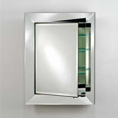 "33"" x 27"" Radiance Recessed Mirrored Medicine Cabinet"