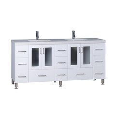 "72"" Westfield Single Sink Vanity - White"