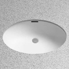 "23"" x 16"" Undermount Bathroom Sink - Cotton White"