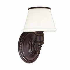 Richmond 1 Light Bathroom Sconce - Old Bronze