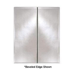 "Broadway 25"" Wall Mount Mirrored Medicine Cabinet - Polished"