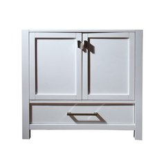 "36"" Modero Cabinet Only w/o Top - White"