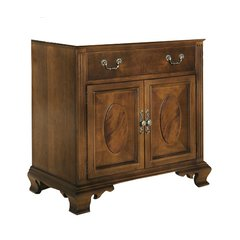 "36"" Dorchester Single Cabinet Only w/o Top - Brown Cherry"