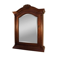 "25"" Wingate Mirrored Medicine Cabinet - Deep Cherry"