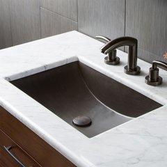 "20"" x14"" Cabrillo Universal Mount Bathroom Sink - Slate"