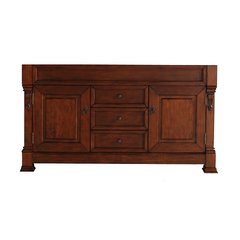 "59"" Brookfield Single Cabinet Only w/o Top - Warm Cherry"