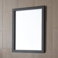 "27"" x 23"" Havana Wall Mount Mirror - Black"