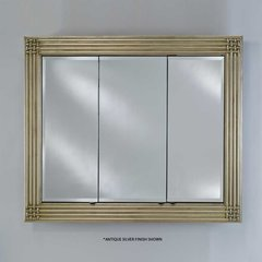 "Vanderbilt 51"" Mirrored Medicine Cabinet -Decor Antique Gold"