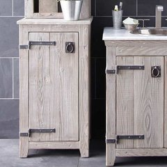 "19"" Americana Floor Cabinet - Driftwood"