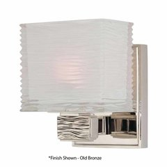 Hartsdale 1 Light Bathroom Sconce - Satin Nickel