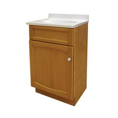 "18"" Heartland Single Sink Bathroom Vanity - Oak"