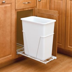 RV Series Single Pullout Waste Containers by Rev-A-Shelf