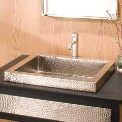 "20"" x 16"" Tatra Drop-In Bathroom Sink - Brushed Nickel"