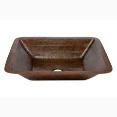 "19"" x 16"" Undermount Bathroom Sink - Oil Rubbed Bronze"