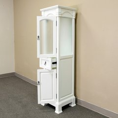 "18"" Linen Tower - Cream White"