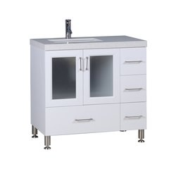 "36"" Westfield Single Sink Vanity - White"