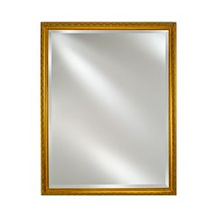 "30"" x 20"" Estate Wall Mount Mirror - Antique Gold"