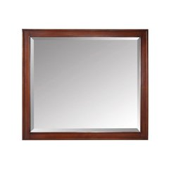 Madison 36 in. x 32 in. Mirror in Tobacco