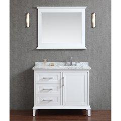 "42"" Seacliff Nantucket Single Sink Vanity - Alpine White"