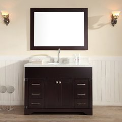 "49"" Stafford Single Sink Bathroom Vanity - Espresso"