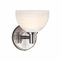 Mercury 1 Light Bathroom Sconce - Polished Chrome