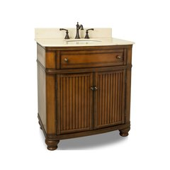 "32"" Compton Single Sink Bathroom Vanity - Walnut"