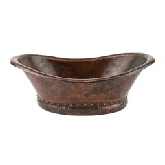"13"" x 20"" Vessel/Above Counter Sink - Oil Rubbed Bronze"