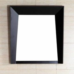 "25"" x 23"" Wall Mount Mirror - Dark Espresso"