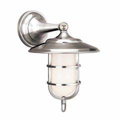 Rockford 1 Light Bathroom Sconce - Polished Nickel