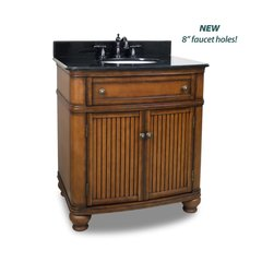 "32"" Compton Single Sink Vanity - Walnut"