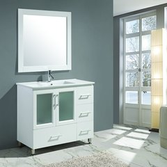 "40"" Stanton Single Sink Bathroom Vanity - White"