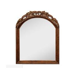 """26"""" x 32"""" Wall Mount Mirror - Walnut"""